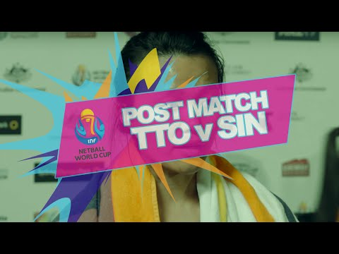 NWC2015 #TTO v #SIN Post Match Interviews