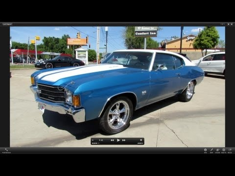 Corvette Stingray  on 1972 Chevrolet Chevelle Ss 454 Start Up  Exhaust  And In Depth Review
