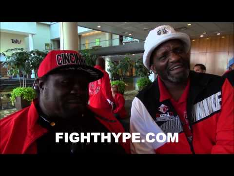 FATHERS OF ADRIEN BRONER AND EMMANUEL TAYLOR DEBATE WHO WILL WIN
