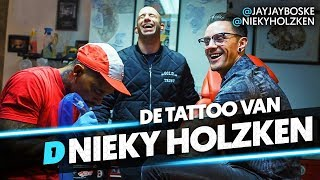 NIEKY HOLZKEN WIL MONSTER TATTOO OP ZIJN RUG! // BOLD INK #6 DAY1