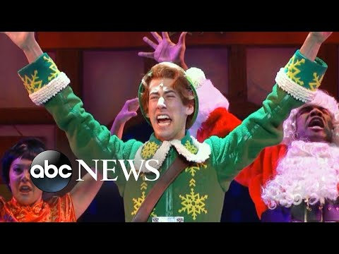 Behind the scenes of 'Elf: The Musical' on Broadway