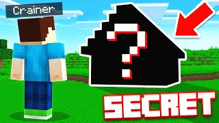 THEY BUILT A *SECRET* MANSION (Minecraft)