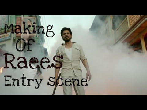 "Shahrukh Khan's | SRK | entry Scene in "" Raees "" making Video -  Leaked {HD} thumbnail"