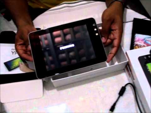 Unpacking/Unboxing Tablet Positivo Ypy 7