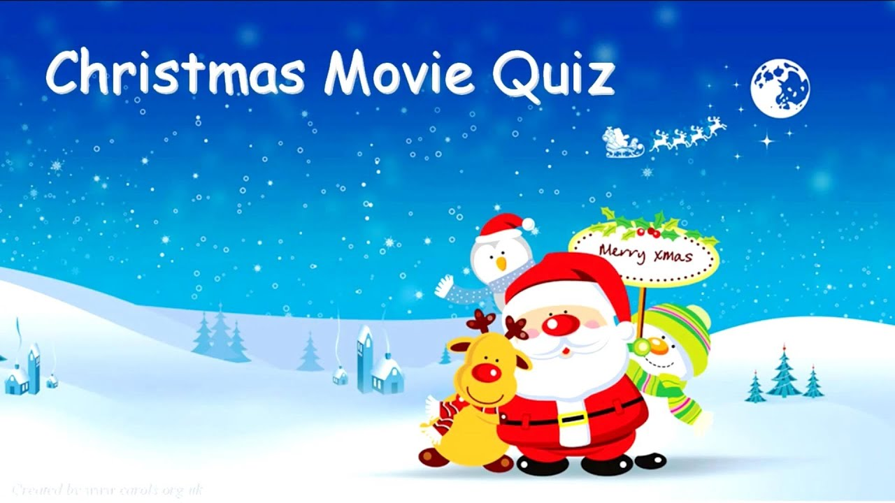 CHRISTMAS MOVIE QUIZ - Questions & Answers - YouTube
