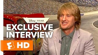 Owen Wilson Gives Us a Ka-chow and a Wow! - Cars 3 (2017) Interview   All Access