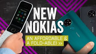 Nokia's Latest Phones: A Beautiful Sequel and a Flip-Phone Throwback
