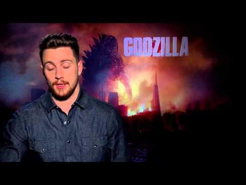 Godzilla- Aaron Taylor-Johnson Interview