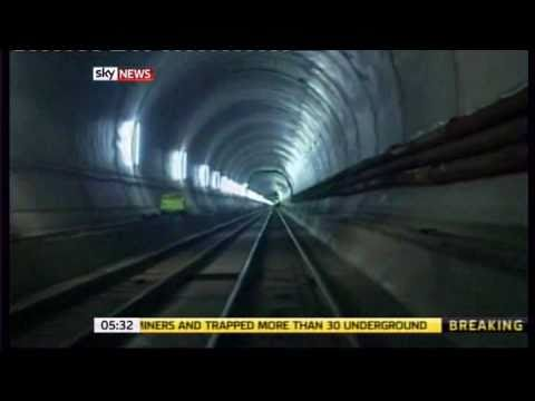 Swiss complete worlds longest tunnel