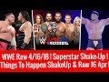 WWE Raw 4/16/2018 Highlights Updates Superstar Shake-up 2018 Raw 16 April 2018 MP3