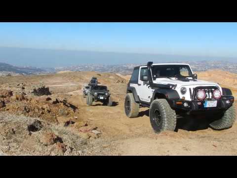 Jeep Wrangler Rubicon offroad trail