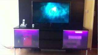 play vip lounge mit led 3d wand dekoration stein bild wandtattoo neu extravagant. Black Bedroom Furniture Sets. Home Design Ideas