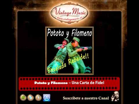 Pototo y Filomeno – Una Carta de Fidel (Perlas Cubanas)