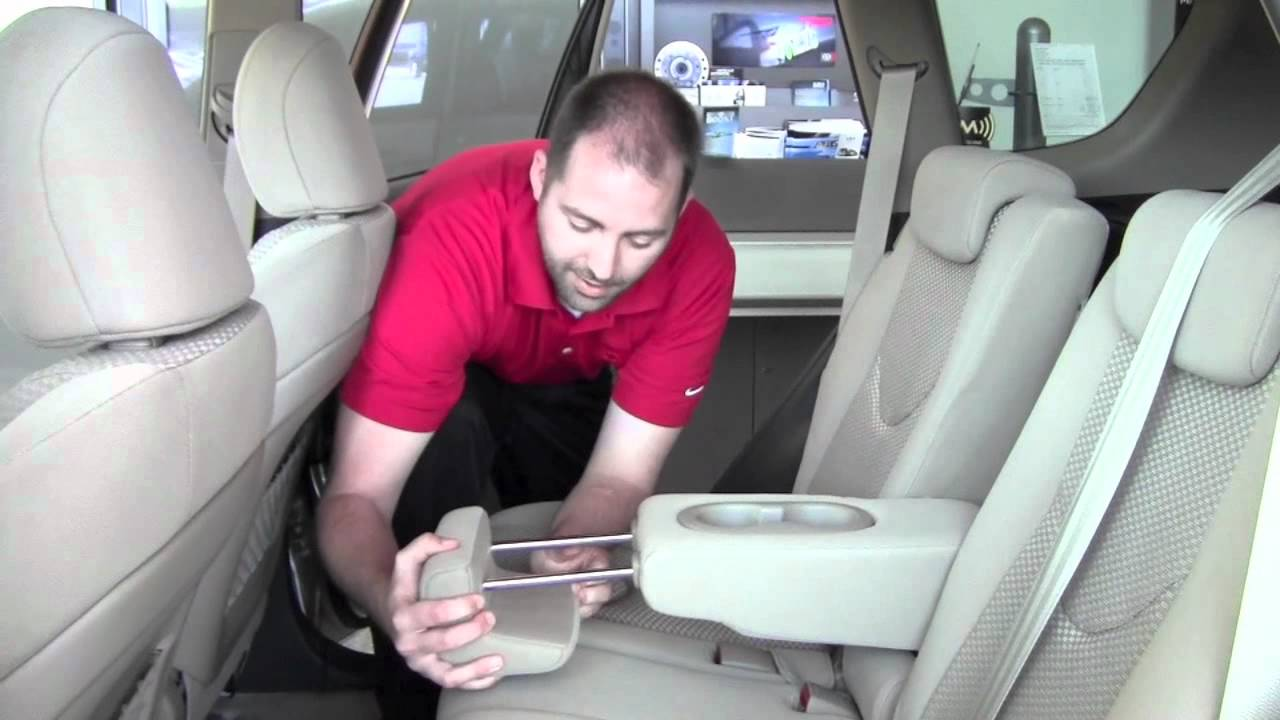 2011 Toyota Rav4 Second Row Armrest How To By