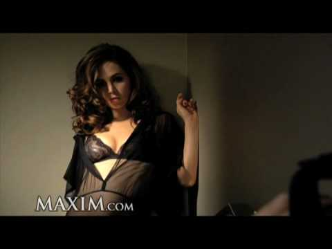 Eliza Dushku: Maxim Cover Shoot