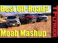 2017 Ford Raptor v. Toyota Tacoma TRD Pro v. Ram Power Wagon: Which is Best Off-Road?