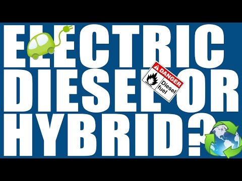 Talking Cars 8 - Electric, Diesel or Hybrids?