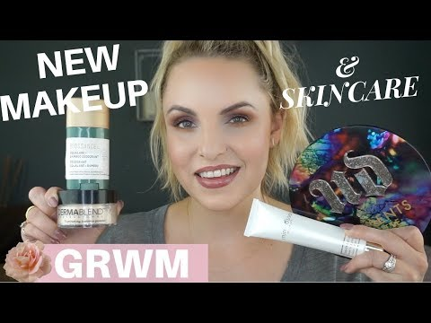GRWM ALL NEW MAKEUP & SKINCARE    New URBAN DECAY. BIOSSANCE. DERMABLEND. PAULS'S CHOICE