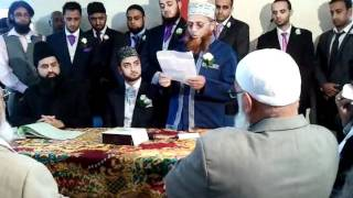 Moulana Mohmed Faruq Ashrafi Praying Sehra @ his son's wedding (18/06/2011)