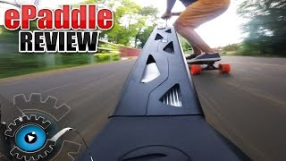 Carbon Longboard mit ePaddle Turbo Antrieb [REVIEW/DEUTSCH]