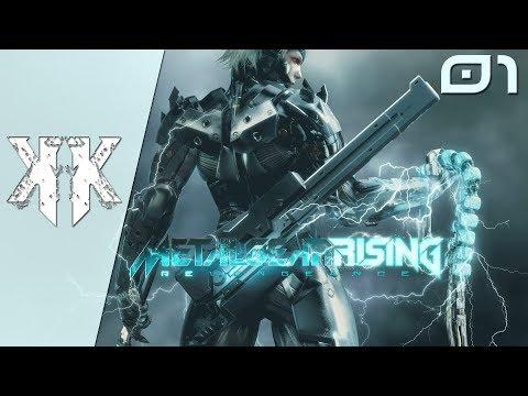 Let's Play : Metal Gear Rising - Revengeance | Episode 1 : Une situation hors de contrôle ( NC )