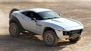 Car Enthusiast Spends $100,000 Building Custom Desert Rally Vehicle