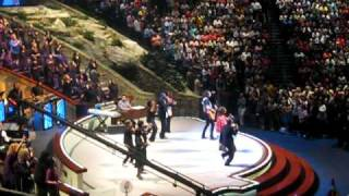 Joel Osteen and TD Jakes at Lakewood Church Memorial day weekend