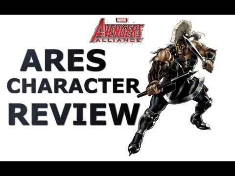 Marvel Avengers Alliance: Ares Character Review