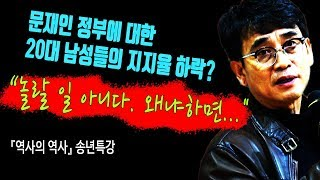 """""""문재인 정부에 대한 20대 남성들의 지지율 하락. 놀랄 일 아니다. 왜냐하면..."""""""