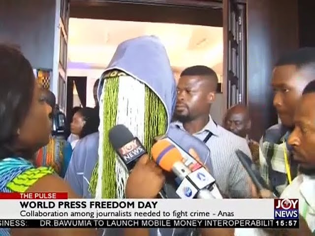 Collaboration among journalists needed to fight crime - The Pulse on JoyNews (3-5-18)