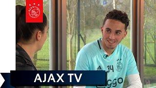 Ajax TV Kick Off - Nouri: 'Ik zou zelfs op goal gaan staan'