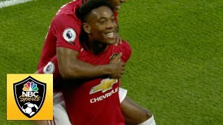 Anthony Martial smashes home to give Man Utd lead v. Wolves | Premier League | NBC Sports