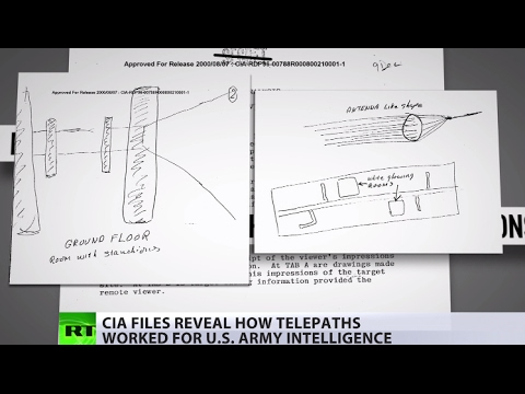 '7yo kid homework assignment': Showing top secret CIA psychics' drawings to New Yorkers
