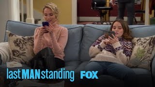 Kristin, Mandy, & Eve Are Consumed With Their Phones | Season 7 Ep. 12 | LAST MAN STANDING