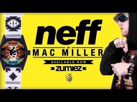 Neff x Mac Miller Watch Collaboration [Neff Headwear Submitted]