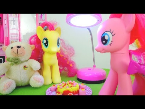 Литл Пони Пинки Пай и Флаттершай боятся темноты