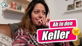 Wir ziehen in den Keller - Haus Umbau - Vlog#1054 Rosislife
