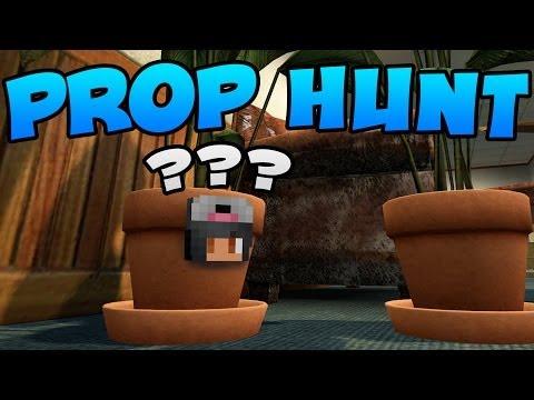 Prop Hunt [Part 2] - You'll Neeeeeever Find Me!