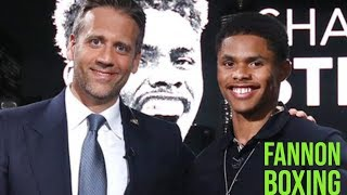 MAX KELLEMAN AND TOP RANK EXPOSED IN SHAKUR STEVENSON INTERVIEW |  ESPN IS HBO BOXING 2.0