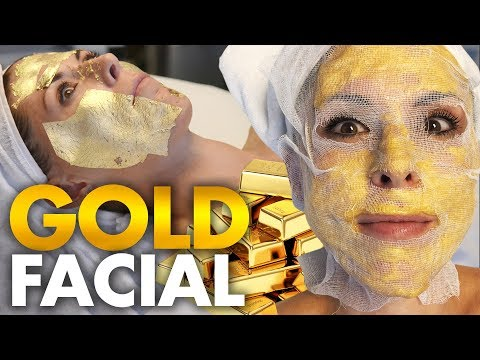 Trying the 24k Gold Korean Facial?!