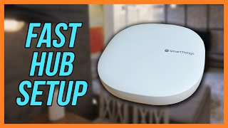 01. Samsung SmartThings V3 Hub Basic Setup