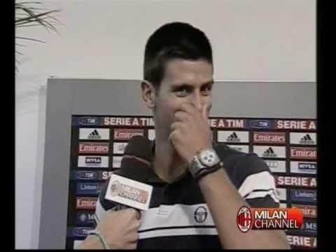 Nole Djokovic a Milanello (22.07.2011)