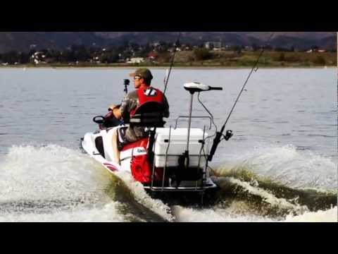Jetski bass fishing with the pac rac youtube for Jet ski fishing accessories