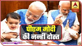 Internet Goes Crazy Over PM's Image With Toddler | ABP News