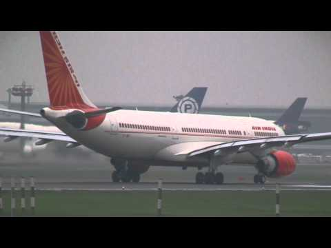 Air India Airbus A330-223 VT-IWB Take off at Narita