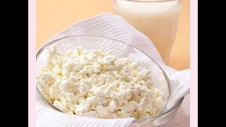 Как сделать творог с хлористым кальцием в домашних
