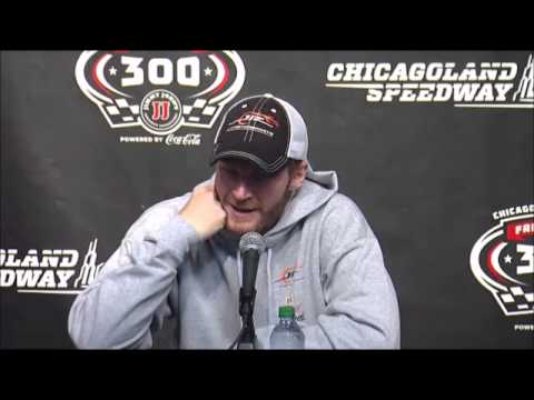 Video Dale Jr and Kevin Harvick NNS Race Winner Interview NASCAR
