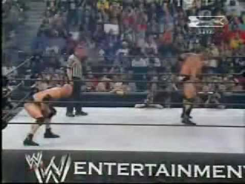 THE ROCK VS GOLDBERG 2003 2