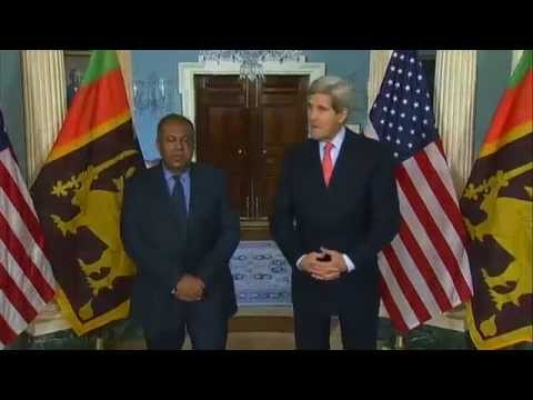 Secretary Kerry Delivers Remarks With Sri Lankan Foreign Minister Samaraweera 12 Feb 2015