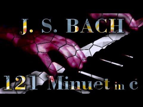 Бах Иоганн Себастьян - Anh 121 Minuet In C Minor